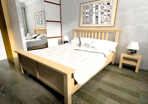 Ha a szobád falain az ezüst uralkodik, átlagosan 7 óra 33 percet alhatsz.