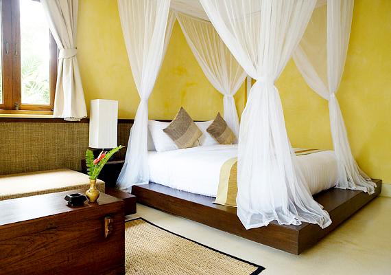 A kék után a sárga következik a sorban, egy ilyen színű szobában átlagosan 7 óra 40 percet lehet nyugodtan aludni.