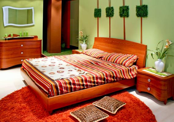 A zöld szoba a felmérés szerint 7 óra 36 perc alvást biztosít.