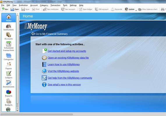 A KMyMoney letölthető szoftvere szintén egy széles körű pénzrendszerező, mely a háztartási kiadásokon túl a számlák befizetését is nyilvántartja, sőt, még a befektetéseket is átláthatóbbá teszi. Itt tudod letölteni a programot.