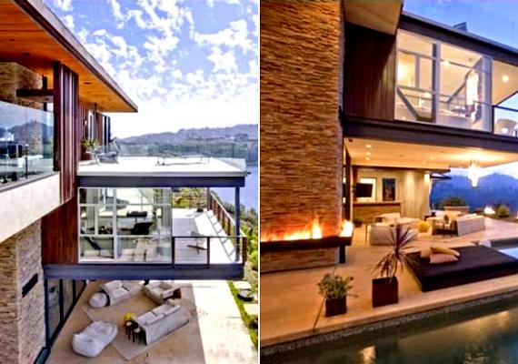 Kevesebb mint felébe kerül a színész Ashton Kutcher hollywoodi, 24 millió dolláros otthona, mely azonban így is impozáns.