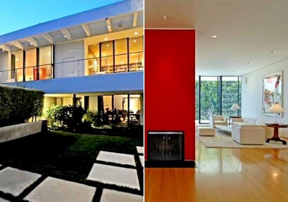 Jennifer Aniston az egyik legnépszerűbb A-listás színésznő, azonban Los Angelesben megelégedett egy 11 millió dolláros házzal is.