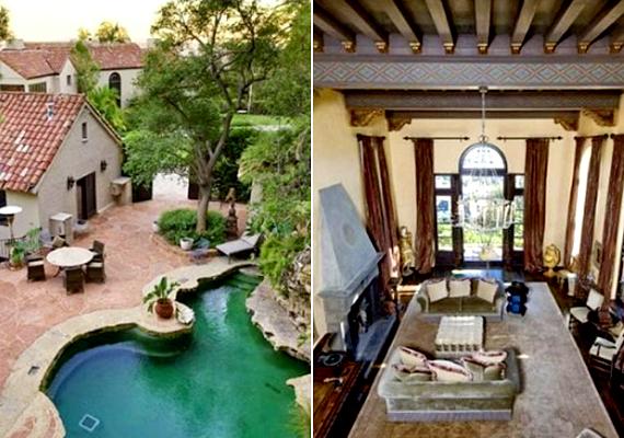 Az amerikai énekesnő, Katy Perry szintén magáénak tudhat egy Los Angeles-i házat, mely 45 millió dollárt ér.