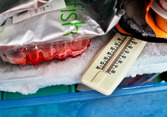A fogyasztás és az ételek minőségének szempontjából is lényeges, hány fokra állítod a készüléket - a szakértők szerint bőven elég a hűtőszekrényben a 7 Celsius-fok, a fagyasztóban pedig a -18 Celsius-fok. Ide kattintva olvashatsz bővebben a témáról.