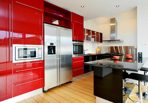 A konyhában elég 20 fok is, a helyiség ugyanis hamar felmelegszik a sütés-főzés miatt.