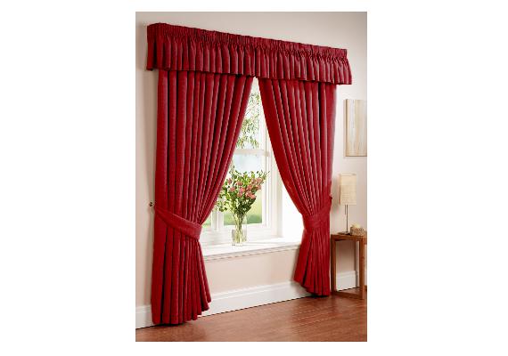 A Vestahome piros blackout függönye tökéletes hőszigetelő.