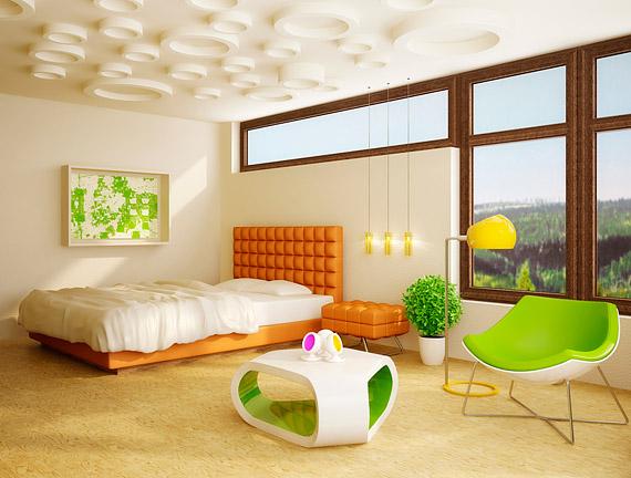 A geometrikus formák nemcsak a kiegészítőkön, de a bútorokon is megjelennek. Lakberendezési boltokban, de kis szerencsével akár a bolhapiacon is vásárolhatsz különleges formájú tárgyakat.