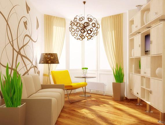 A natúr és a természetes barna színekhez jól illenek a retro kedvenc árnyalatai: a fűzöld, a napsárga és a narancs.