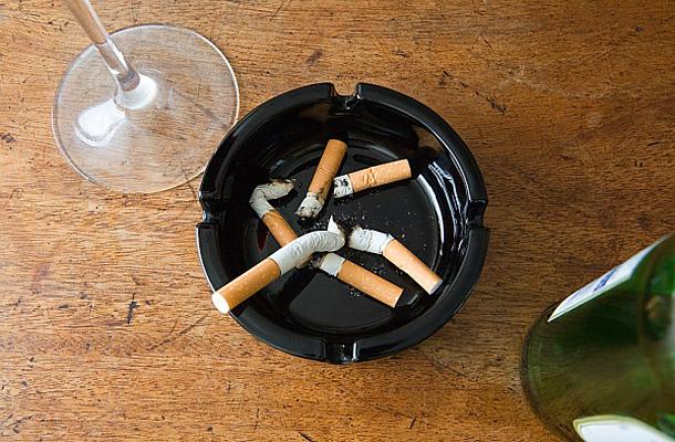 Felhagytam a cigarettázást, de füvet szívok