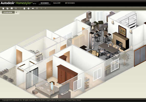 A Home Styler profi lakberendező program, mely alkalmas otthonod komplett megtervezésére, az alaprajztól a legkisebb részletekig. Itt érheted el.
