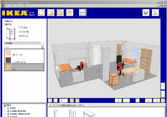 Az Ikea is létrehozta Home Planner néven saját lakberendezős programját. Itt érheted el, és itt találod meg a konyhatervező programot is.