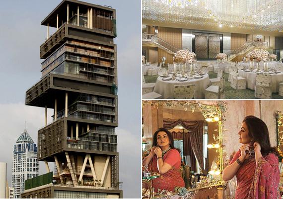 A Mumbaiban található Antilia jelenleg a világ legdrágább lakóingatlanja, melyet az indiai üzletember, Mukesh Ambani tudhat a magáénak. Az épületet sokan tartják negatív példának a felesleges fényűzés miatt, emellett külső megjelenésével kapcsolatban is bírálják. Ha többet akarsz tudni róla, kattints ide!