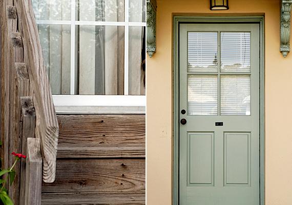 Az ablakok mellett az ajtó minősége is fontos, ha ugyanis nem túl stabil a szerkezete, esetleg még üvegezett is, és rács sem található rajta, könnyű célponttá teszi a lakást. Biztonságosabb a tömör fából készült vagy fémborítással is ellátott ajtó.