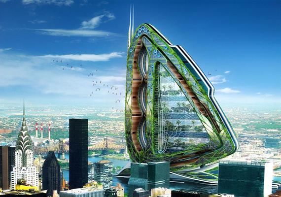 Szintén az ő nevéhez köthető a több mint százemeletes városi farm, a Dragonfly is.