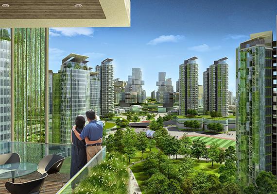 Az első látásra a tudományos-fantasztikus filmek világát idéző Tianjin Eco City egy már létező, Szingapúr és Kína együttműködésével megvalósítandó projektet jelent. A 350 ezer embernek otthont adó, modern, fenntartható, környezetbarát és társadalmi harmóniára törekvő város, ha egyszer elkészül, a tervek szerint modellként szolgálhat a jövő más városai számára is. Itt olvashatsz róla bővebben.