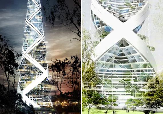 A Berlinbe tervezett Spiral Tower szintén a fenntartható városi építészetet képviseli, tervezői egy olyan épületet szerettek volna létrehozni, ahol napelemek és szélturbinák biztosítják az energiát, a lakóknak pedig tökéletes színteret jelent a pihenésre és a rekreációra.