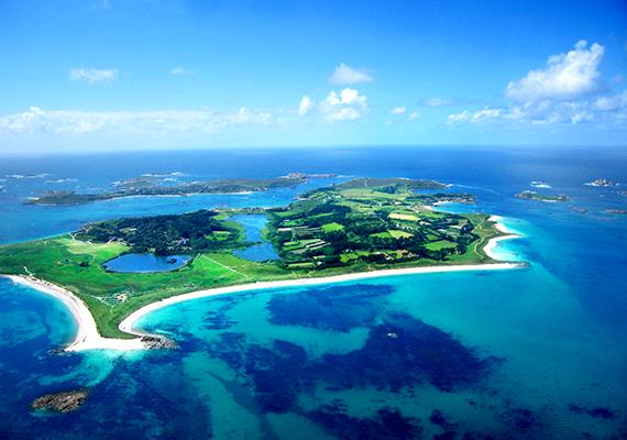 A Tamarisk birtok a Scilly-szigeteken szintén olyan hely, ahol visszavonulhat a nagy nyilvánosság elől.