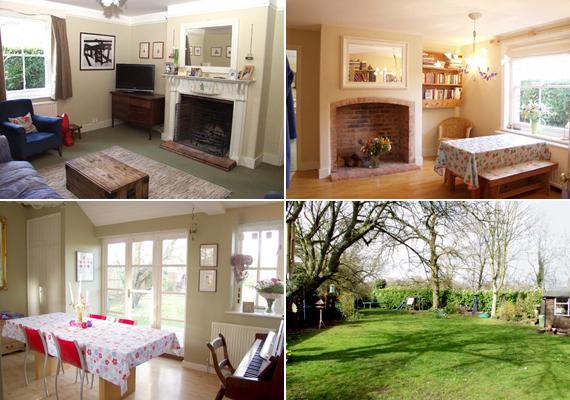 A festői környezetben található, vidéki, Viktória-korabeli ház a tradíciót és a modern lakberendezés elemeit egyesíti magában.
