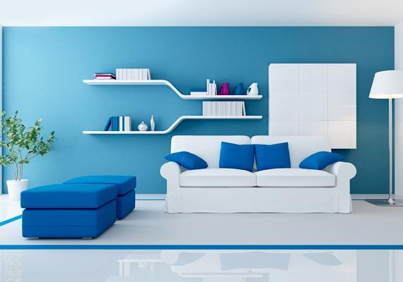 A kék a béke és a nyugalom színe, így célszerű a lakásban is kihasználni, ha életedben nagymértékben jelen van a stressz, és sokat idegeskedsz. Segíthet, ha túl magas a vérnyomásod, illetve, ha sokat fáj a fejed.