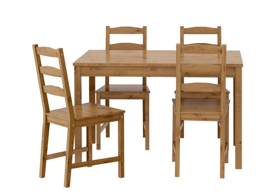 Csak egy kicsit több pénzért, 30 460 forintért az IKEA JOKMOKK asztalához négy széket is kapsz.