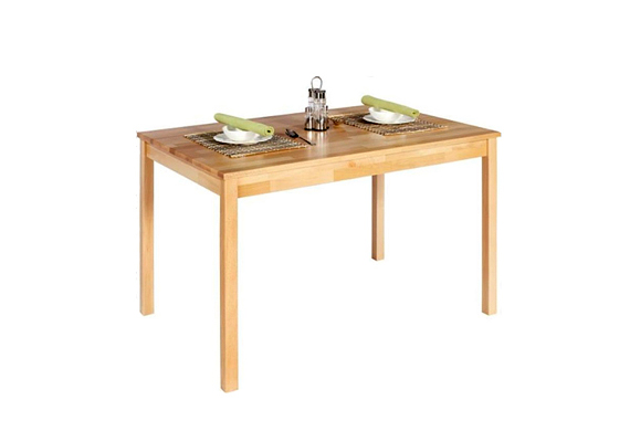 A Möebelix bükk étkezőasztala egészen egyszerű, ám pont emiatt különleges. 26 990 forintért lehet a tiéd.