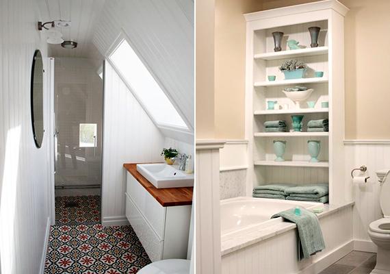A zsúfoltságtól még kisebbnek tűnik majd a helyiség, így törekedj minden tekintetben az egyszerűségre. Ne használj túl sok dekorációs elemet, amiket azonban mégis bevetsz, mindenképpen harmonizáljanak egymással.