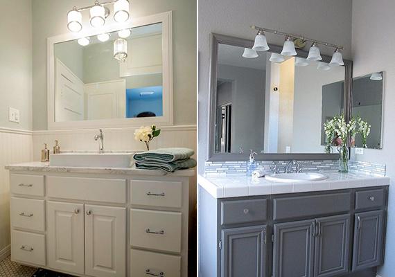 Ha nincs lehetőséged természetes fényt juttatni a fürdőszobába, világosabbá és tágasabbá teheted, ha mesterséges fényből alkalmazol minél többet. Ezek lehetnek irányíthatóak is, az oldalsó falakra vezetett fény például tágítja a helyiséget, a tükörről visszaverődő fény pedig még inkább megnyitja a teret.
