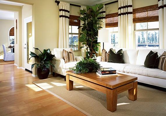 Ha az egész lakásban egyforma a padló, akkor nem törik meg a folytonosság, így a tér tágasabbnak fog tűnni.
