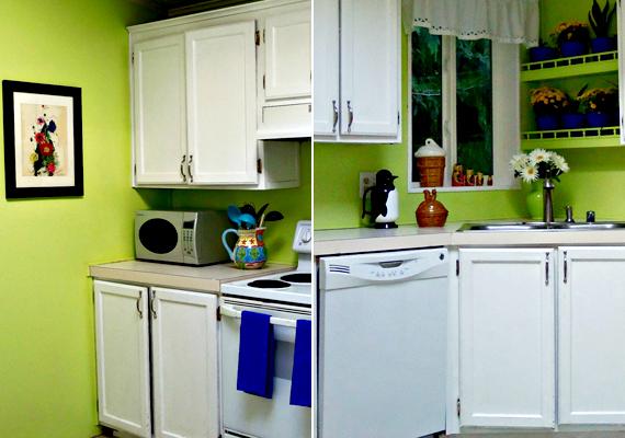 A zöld az egészségeses ételek, az egészség és a jólét színe, minek köszönhetően kiegyensúlyozott étvágyat biztosíthat.