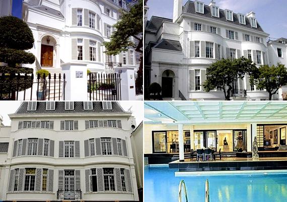 A szintén London nyugati részén található Victorian Villa értékét 80 millió fontra becsülik. Korábban lányiskola volt, jelenleg egy ukrán üzletasszony és emberbarát, Elene Franchuk a tulajdonosa.