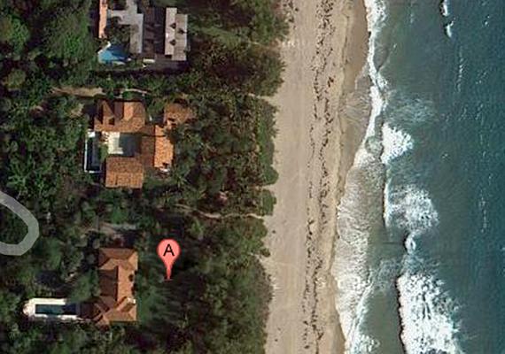 Az amerikai Ken Griffith tulajdonában álló Palm Beach-i Blossom Estate körülbelül 130 millió dollárt ér.