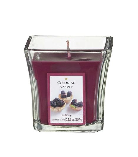 Colonial Candle MulberryÉrett, zamatos, édes bogyósgyümölcsök enyhe vaníliaköntösben - ez a Colonial Candle Mulberry, ami a cég egyik nagy nyári újdonsága. Kihagyhatatlan!Kapcsolódó cikk:A 3 legfinomabb lakásillatosító fillérekből »