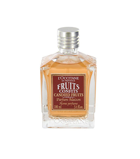 L'Occitane Candied FruitA Candied Fruit Home Perfume lakásparfümmel édesebbé teheted az otthoni pihenést. A kandírozott, mézesmázos gyümölcskivonattal bármikor finomabbá és harapni valóvá varázsolhatod a levegőt, ha valami igazán fenséges, érzékcsábító illatélményre vágysz.Kapcsolódó címke:Illat »