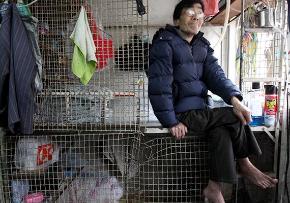 Kínában a lakhatás kérdése rendkívül problematikus. Rengetegen élnek föld alatti otthonokban, emellett olyan lakásokban is, amelyek alig nagyobbak egy mellékhelyiségnél, a legmegrázóbbnak azonban talán a ketreclakások számítanak, amelyek lakóik szerint leginkább a koporsókhoz hasonlítanak. További képekért kattints ide!