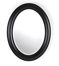 NFH fekete ovális falitükör - 7250 forint