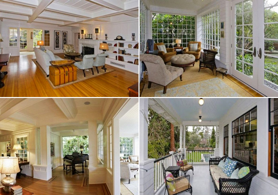 Azért a ház nem egy hétköznapi családi otthon, öt hálószoba található benne, amelyekhez saját fürdőszoba is tartozik.