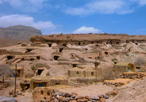Az iráni Kerman tartományban található falu a feltételezések szerint több mint tízezer éves is lehet.