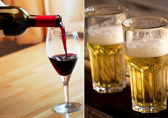 Ne hagyj elöl alkoholos italokat, különös tekintettel a borra és a sörre -, hacsak nem kifejezetten csapdát akarsz készíteni a rovaroknak.