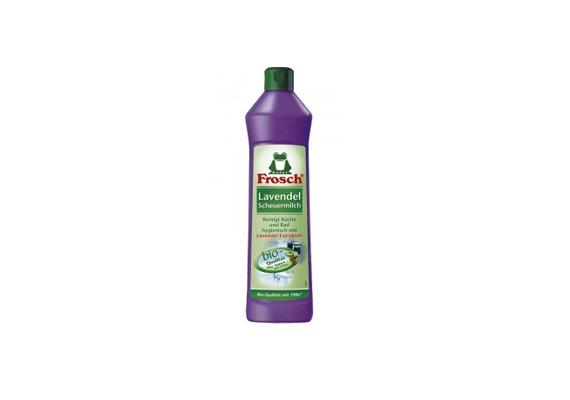 A Frosch levendulakivonatot és márványőrleményt tartalmazó súrolója környezetbarát, és csak 390-400 forint.