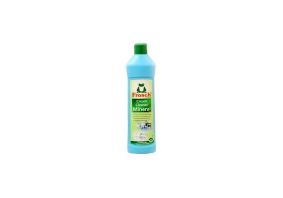 Makacs szennyeződések ellen érdemes bevetni a Frosch Mineral súrolót, mely ásványi anyagok segítségével száll szembe a piszokkal. Ráadásul 390-400 forintért kapható.