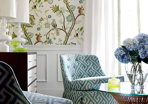 Egy modern, kreatív tapétacsíkot már 3-4000 forintért megvehetsz, ennyi pedig elég is ahhoz, hogy feldobd a szobát.