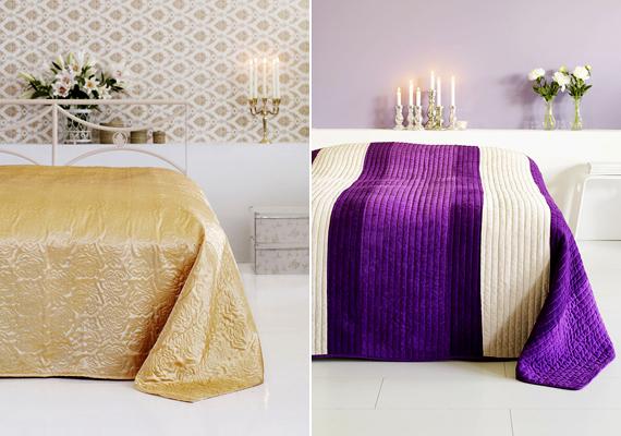 Mindkét ágytakarót a JYSK kínálatában találtuk: a bal oldali Poly Rose 4990 forintba kerül, a jobb oldali Jea pedig most akciósan 7500 forint.