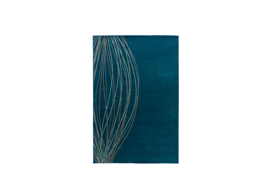 Az IKEA Malin Blad nevű, türkiz színű, 133x195 centiméteres szőnyege 8990 forintba kerül.