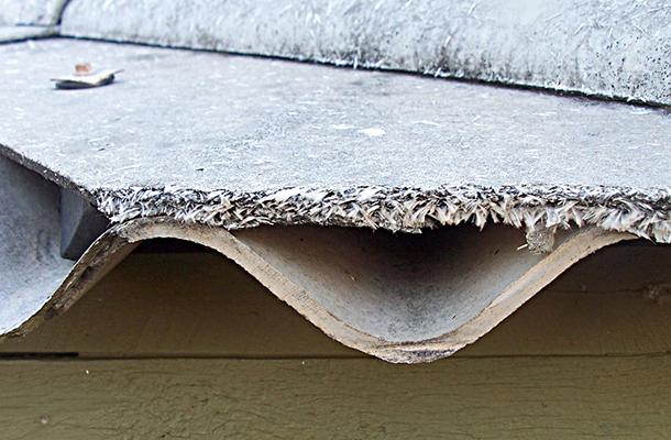 Azbeszt belélegzése