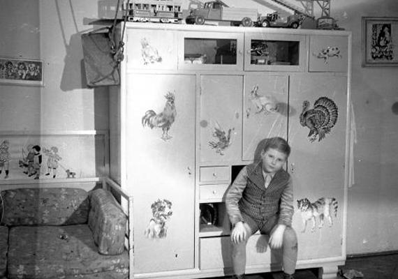Így festett egy gyerekszoba a '40-es években.