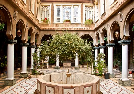 Brad Pitték számos otthona közül Damaszkuszban található az egyik legszebb.