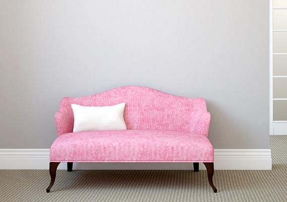 A rózsaszín a rend árnyalata is, csökkenti a dühöt, az agressziót. A szín egyetlen hátránya hatásait tekintve, hogy fokozza az étvágyat - a képen látható kanapé árnyalata például kísértetiesen emlékeztet a málnás fagylaltéra.