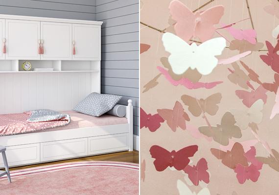 Sokan kötik össze a gyermekiséggel, tisztasággal is, nem véletlen, hogy a kisebbek szobáiban előszeretettel alkalmazzák különféle árnyalatait.