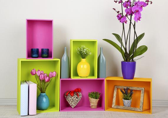 Nem kell, hogy hangsúlyos legyen a lakásban: megfelelő színekkel kombinálva friss, fiatalos hatást kelt.