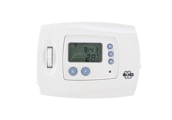 Az ELRO KT 250 programozható termosztát 9620 forintba kerül, és az Union Multimedia webshopjában találtunk rá.